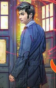 Doctor Who Ongoing #1 Silver Scream Retail Variant Cover (2009) IDW Publishing comic book